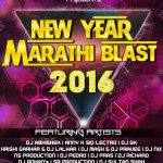 New Year Marathi Blasts - 2016 Cover